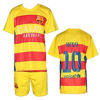 Футбольная форма ФК Барселона FM10 для детей 6-10 лет оптом. Доставка из Одессы.