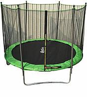 Батут Active Hobby діаметром 252см (8ft) спортивний для дітей і зовнішньою захисною сіткою