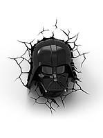 СВЕТИЛЬНИК 3D STAR WARS DARTH VADER HELMET, фото 1