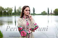 Платье с вышивкой СЖ 051025