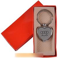 """Брелок-сердечко в подарочной упаковке """"Audi"""" №A25-8 SO"""