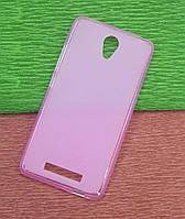 Силиконовый чехол накладка для Xiaomi Redmi Note 2 pink