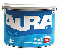 Краска акриловая AURA FASAD FORT фасадная база А-белая 10л