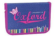 Пенал книжка Oxford jeans 1 отворот