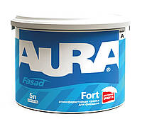 Краска акриловая AURA FASAD FORT фасадная база А-белая 5л