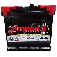 Аккумулятор Автомобильный  Амега 44 Ач (A-Mega Standart 6СТ-44-Аз 390 А)