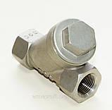 Фильтр нержавеющий резьбовой Y-обр. AISI316 Ду10 Ру40, фото 2