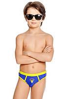 Плавки для мальчика, принт - три доски для серфинга, кислотная отделка,  Nirey, Италия