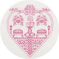 """Набор для вышивки крестом """"Panna"""" Розовый сад СО-1768"""