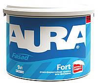Краска акриловая AURA FASAD FORT фасадная база TR-транспарентная 9л