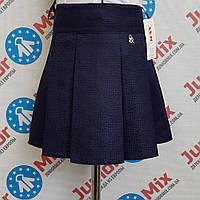 Школьная детская юбка синего цвета для девочки   ASJO.  ПОЛЬША, фото 1