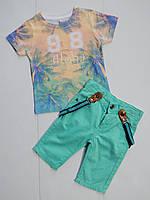 "Летний костюм на мальчика от ТМ ""Bizizo"" 2,3,4,5 лет"