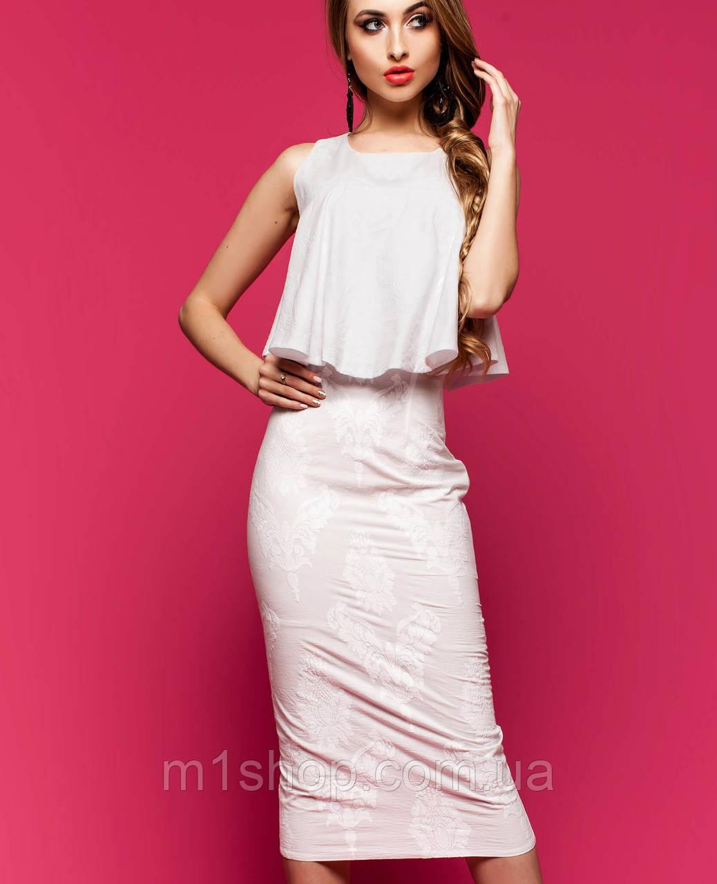 Женское платье из батиста (Магнолия jd)