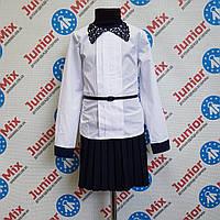 d21c76ce626 Школьная детская нарядная блузка для девочки KUBITEX
