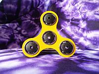Спиннер противоударный цвет желтый, Hand Spinner,Finger Spinner (4 подшипника)