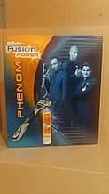 Набір Gillette Fusion Power Phenom (бритва/1шт + гель/200ml)