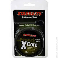 Шок-лидер Starbaits X-CORE Weedy Green 35LB, 25м