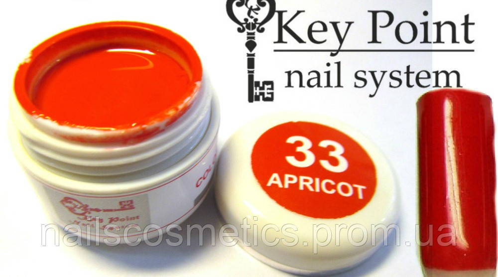 №33 Apricot гель-краска