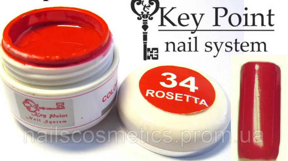 №34 Rosetta гель-краска