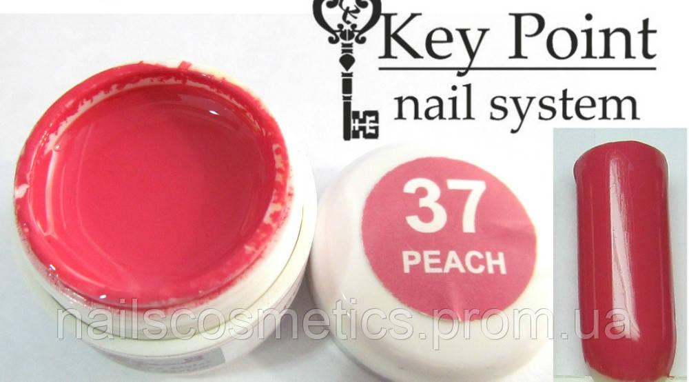 №37 Peach гель-фарба