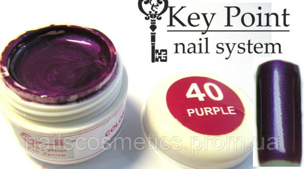 №40 Purple гель-краска