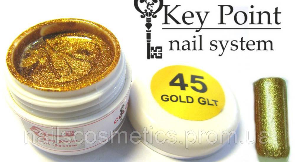 №45 Gold Glt гель-краска