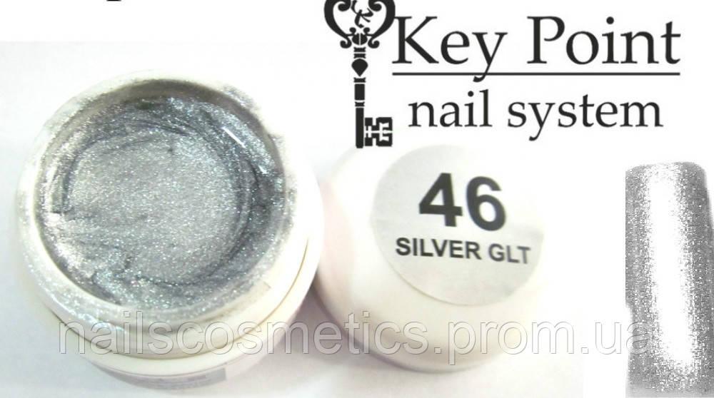 №46 Silver Glt гель-фарба