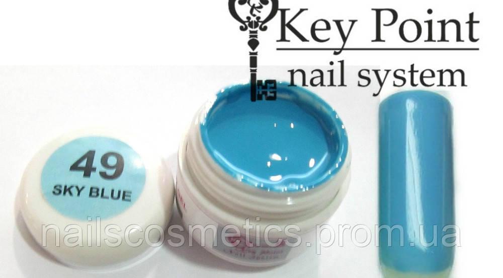 №49 Sky blue гель-краска