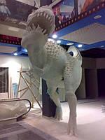 Скульптура динозавр