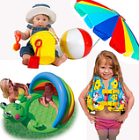 Товари для літнього відпочинку.Надувні круги плоти матраци іграшки
