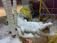 Скульптура крокодил, фото 1