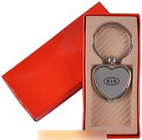 """Брелок-сердечко в подарочной упаковке """"Kia"""" №A25-11 SO"""