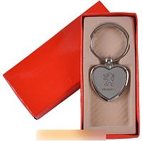 """Брелок-сердечко в подарочной упаковке """"Peugeot"""" №A25-3 SO"""