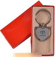 """Брелок-сердечко в подарочной упаковке """"Toyota"""" №A25-5 SO"""