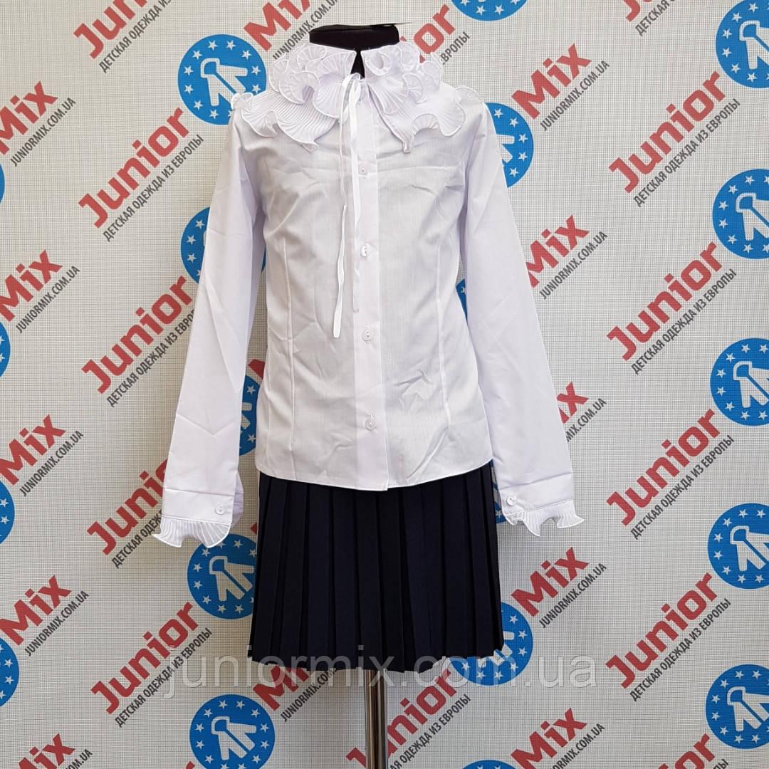 Школьная блузка для девочки   KUBITEX. ПОЛЬША