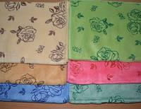 Банные полотенца Роза Микрофибра