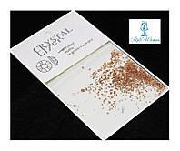 Камни Сваровски пикси коричневые 1440шт YRE