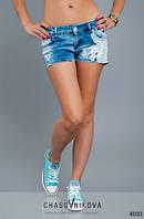 Женские джинсовые шорты Клариса