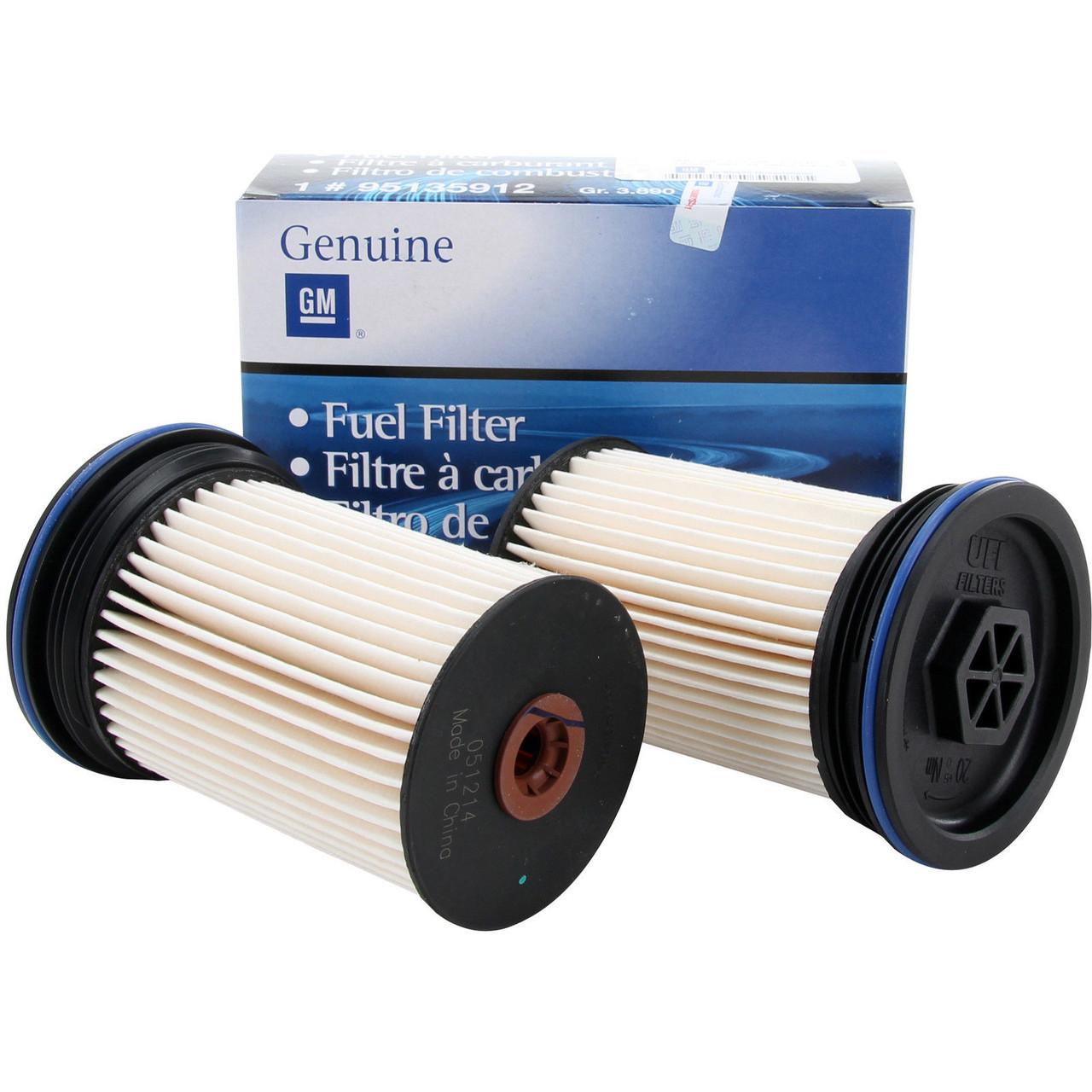 Фильтр топливный (комплект из 2-х фильтров) GM 95135912 OPEL Antara & CHEVROLET Captiva A22DM A22DMH Z22D1