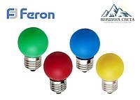 Светодиодная лампа 1w E27 Feron LB-37