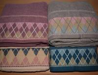 Банные полотенца Ромбики