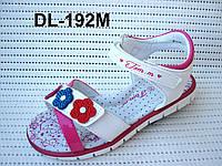Красивые летние босоножки для девочки с открытой пяточкой