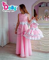 Платье Джорджия розовое