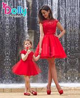 Платье Арте красное