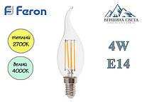 Светодиодная лампа LED Feron LB-59 4W 230V E14