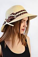 Шляпа Родос песочная