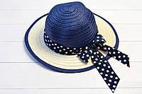 Шляпа детская Джерба индиго