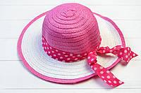 Шляпа детская Джерба малиновая