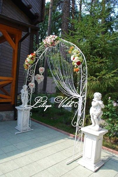 "Свадебная арка ""Стрелы амура"""