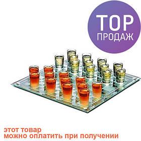 Алко-игра Шашки (пьяные шашки) 25 (L) х 25 х 0,4 (h) см / алкогольные игры